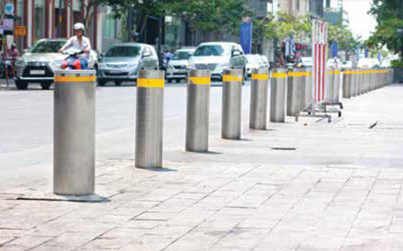 Secure Traffic Bollards