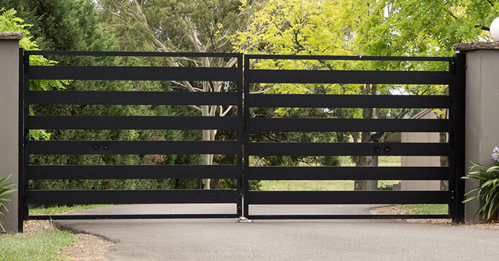 Stylish Manual Gates