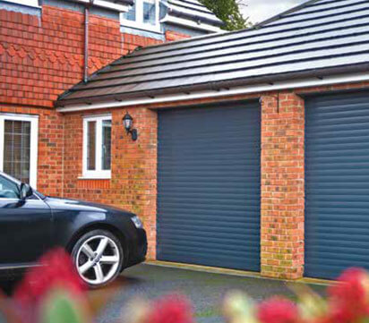 Domestic Roller Garage Door