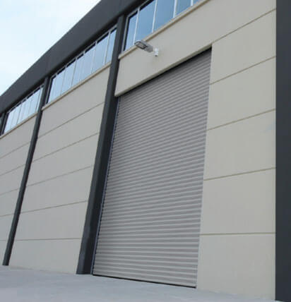 Commercial and Industrial Shutter Installation