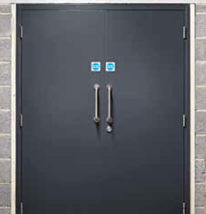 Durable Fire Rated Steel Doors