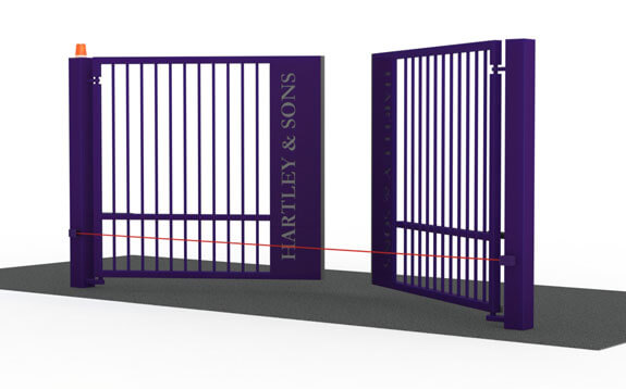 Efficient Swing Gates