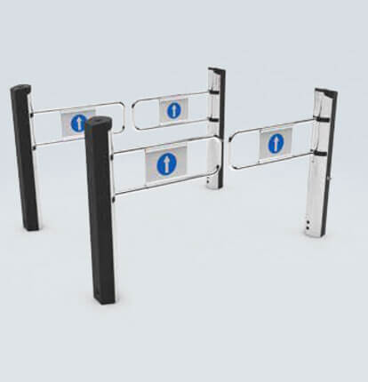 Stylish Turnstile Installations