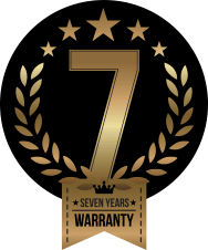 7 Year Warranty on Roller Garage Doors