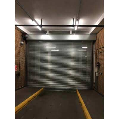 3 Phase Perforated Roller Shutter